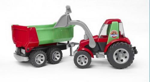 Traktor s vozem