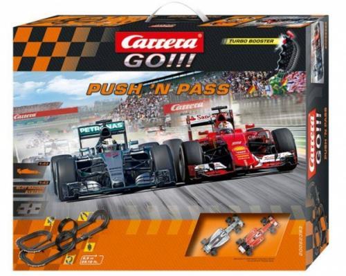 Autodráha Carrera GO 62393 Push´n pass