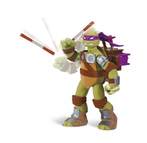 TMNT Želvy Ninja - DONATELLO střílí, hází, vrhá