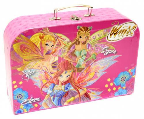 """WINX - kufřík dětský papírový """"35"""" (laminovaný)"""