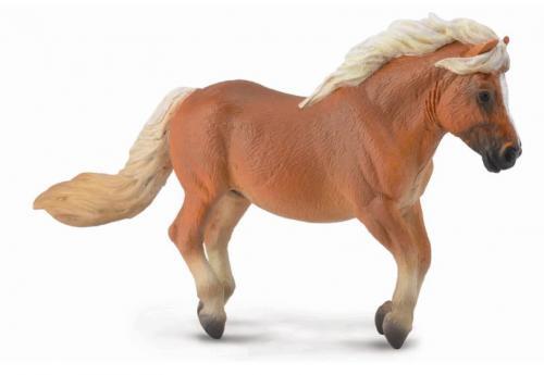 Figurka Shetlandský pony - ryzák