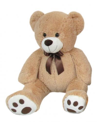 Plyšový medvěd béžový, 60 cm