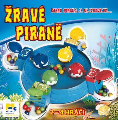 Mac Toys M5116176 - Žravé Piraně