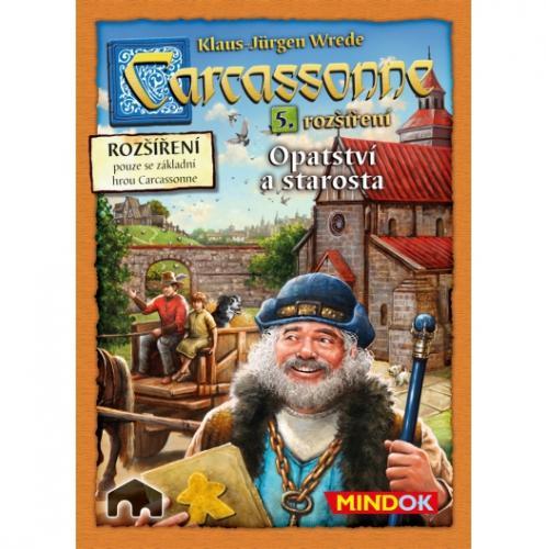 Carcassonne - rozšíření 5 (Opatství a starosta)