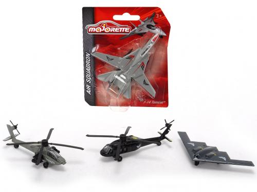 Air Squadron vojenský, kovový, více druhů