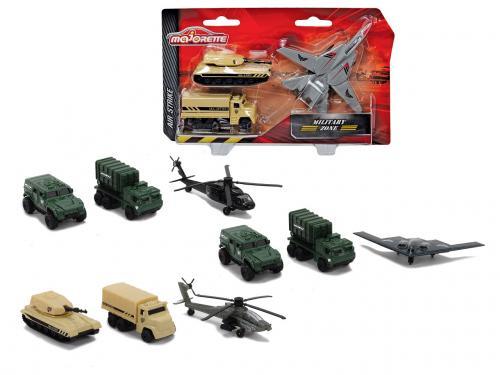 Air Strike vojenská technika set, 3 druhy