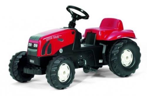 Šlapací traktor Zetor červený 11441