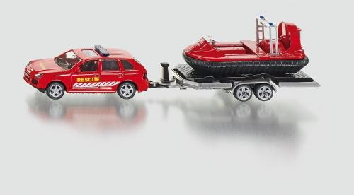 SIKU Super - Auto s tahačem a vodním skůtrem 1:50