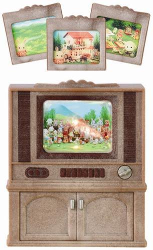 Nábytek skříňka s barevnou televizí