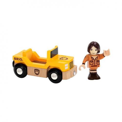 Safari auto s panáčkem