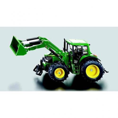 SIKU Farmer - Traktor John Deere s čelním nakladačem, měřítko 1:32