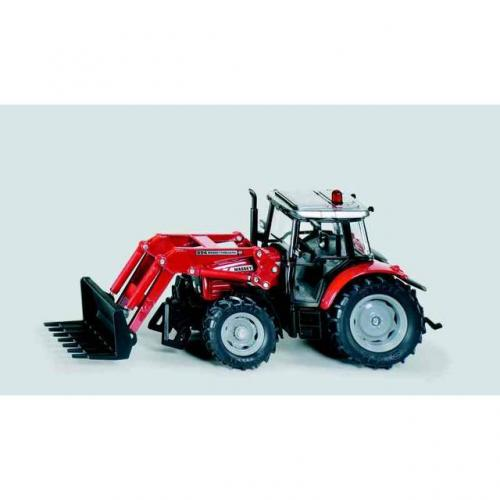 SIKU Farmer Traktor Massey Ferguson s radlicí, měřítko 1:32