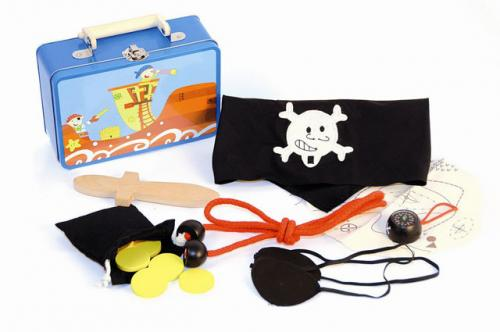 """Set v kufříku """"Piráti"""""""