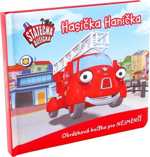 Presco Group Hasička Hanička, leporelo kniha Statečná autíčka