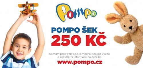 Dárkový poukaz Pompo 250 Kč