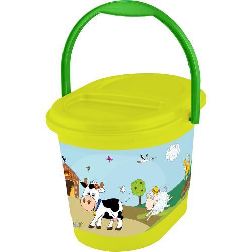 Zelený kbelík, Kravička