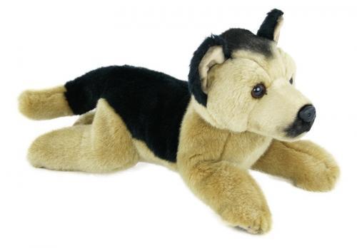 Plyšový pes Vlčák, 30 cm