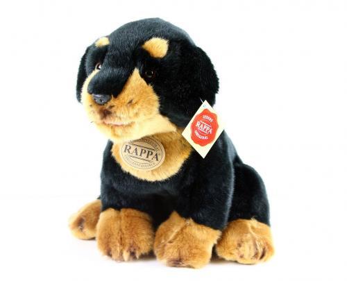plyšový pes Rotvajler, 22 cm