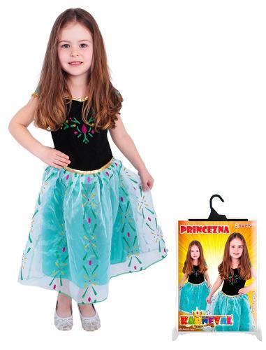 Karnevalový kostým - Kostým Zimní princezna Anna, velikost S