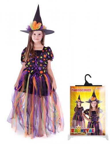 kostým čarodějnice, dlouhá sukně, velikost M