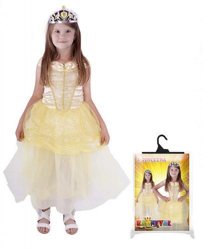 kostým princezna žlutá velikost S
