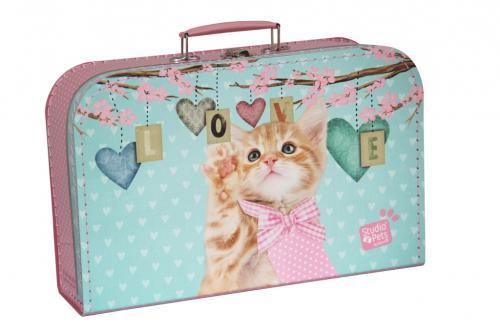 Dětský kufřík s motivem kočička