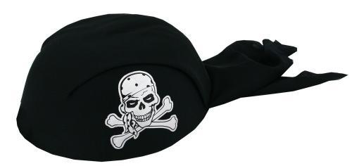 Šátek pirátský černý, dětský