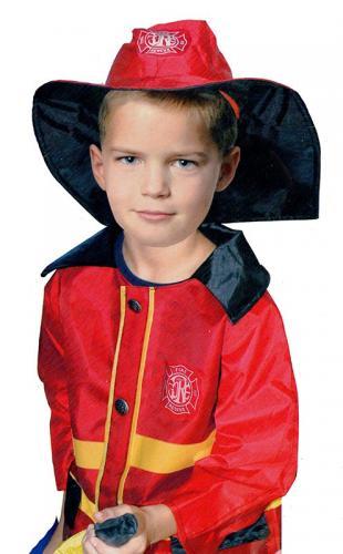 kostým požárník