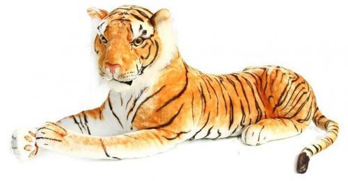 Plyšový tygr ležící 105 cm