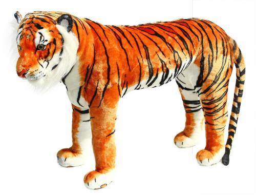 Plyšový tygr stojící 106 cm