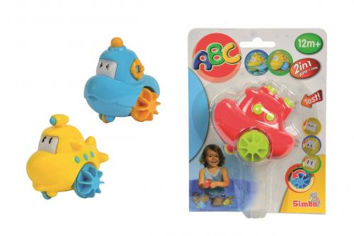 Simba Veselá ponorka do vany, 3 druhy