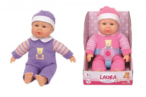 Panenka Laura First Baby Doll 30 cm