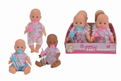 New Born Baby - Panenka pije a čůrá