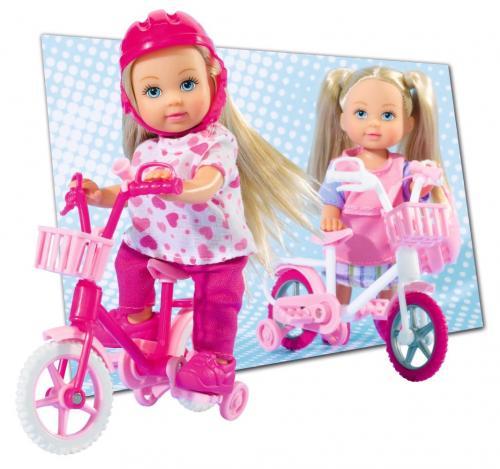 Panenka Steffi Love - Evička s jízdním kolem