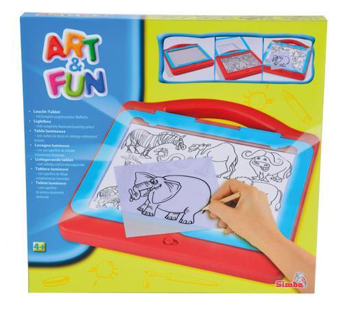 Simba Art&Fun kreslící tabulka světelná