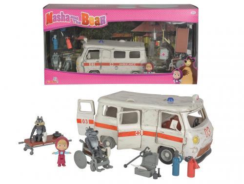 Máša a medvěd Ambulance hrací set