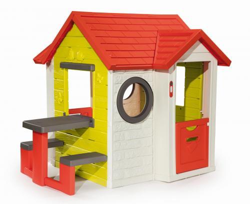 Smoby Domeček My House s piknikovým stolem