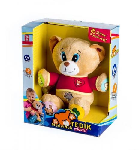 Medvěd Tedík mluvící