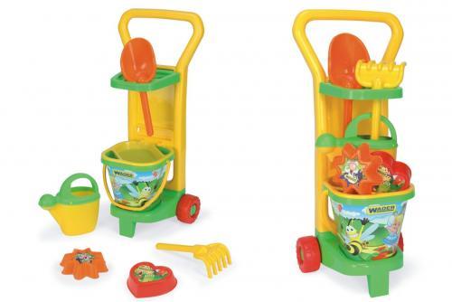Vozík zahradníka s doplňky plast Wader