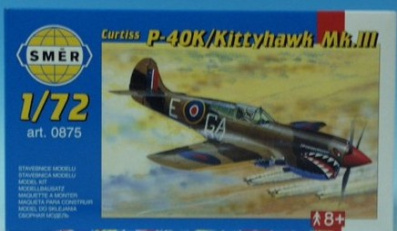 CURTISS P - 40K/Kittyhawk Mk.III