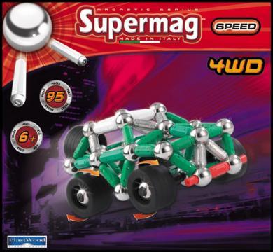 Supermag 4WD 95 dílků