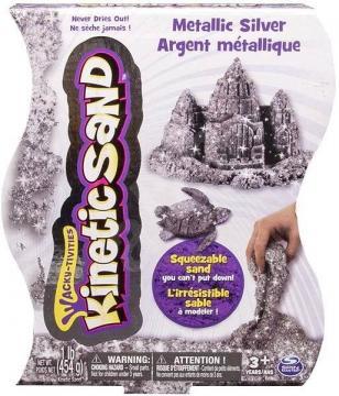 Kinetic Sand - Metalický písek 454 g, Více druhů