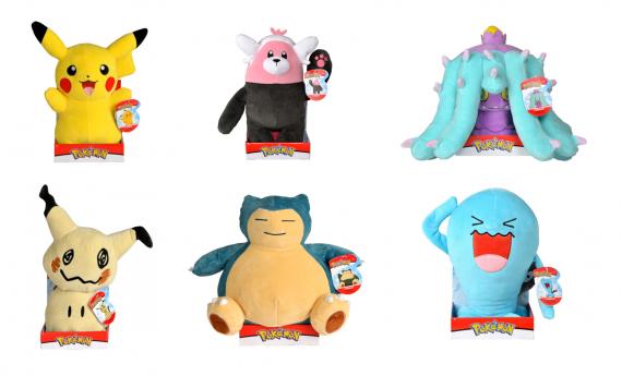Wicked Cool Toys Pokémon plyšový 30cm, více druhů