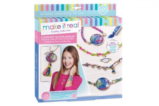 make it real Náramky a náhrdelník, třpytivé