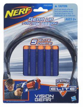 Nerf Elite Brýle + 5 ks šipek