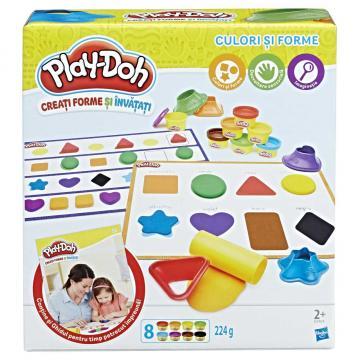Play Doh Barvy a tvary