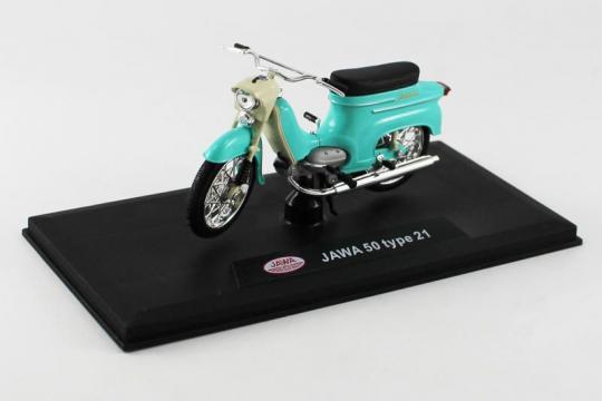 Jawa 50 Pionýr typ 21 (1967) 1:18 - Tyrkysová