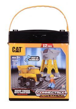 CAT Stavebnice set - Nákladní auto