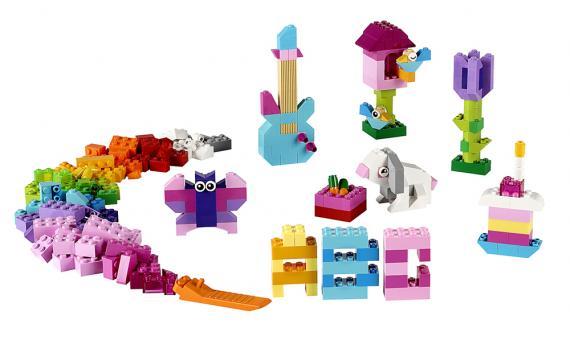 LEGO Creator 10694 Pestré tvořivé doplňky LEGO®