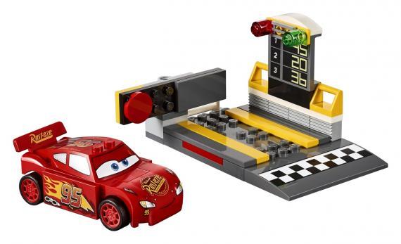 LEGO Disney Juniors 10730 Vystřelovač Bleska McQueena